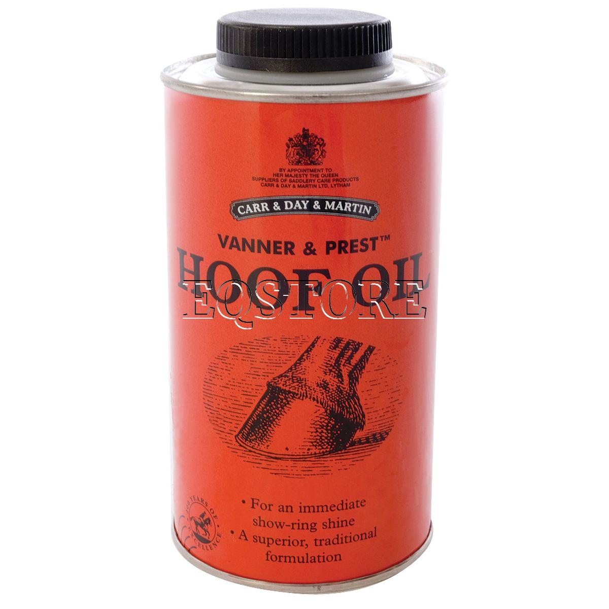 Vanner & Prest Hoof Oil (Масло для копыт Vanner & Prest 1 л)