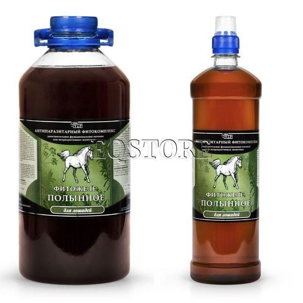Фитожеле Полынное для лошадей ЗооVIP