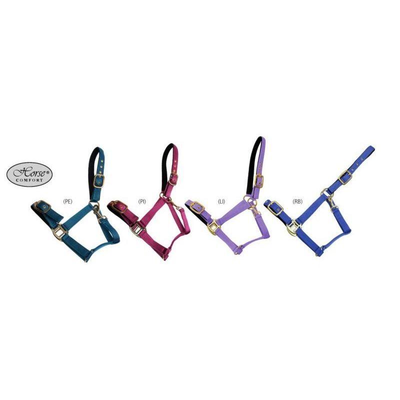Недоуздок нейлоновый на подкладке Horse Comfort (WAHLSTEN)