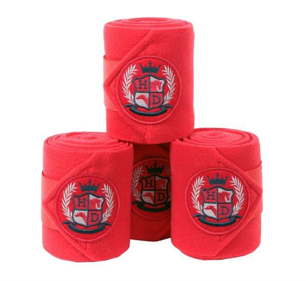 Стан флисовых бинтов H&D Care Antic красный